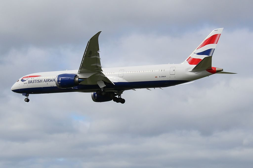 G ZBKP Boeing 787 9 Dreamliner British Airways at London Heathrow Airport
