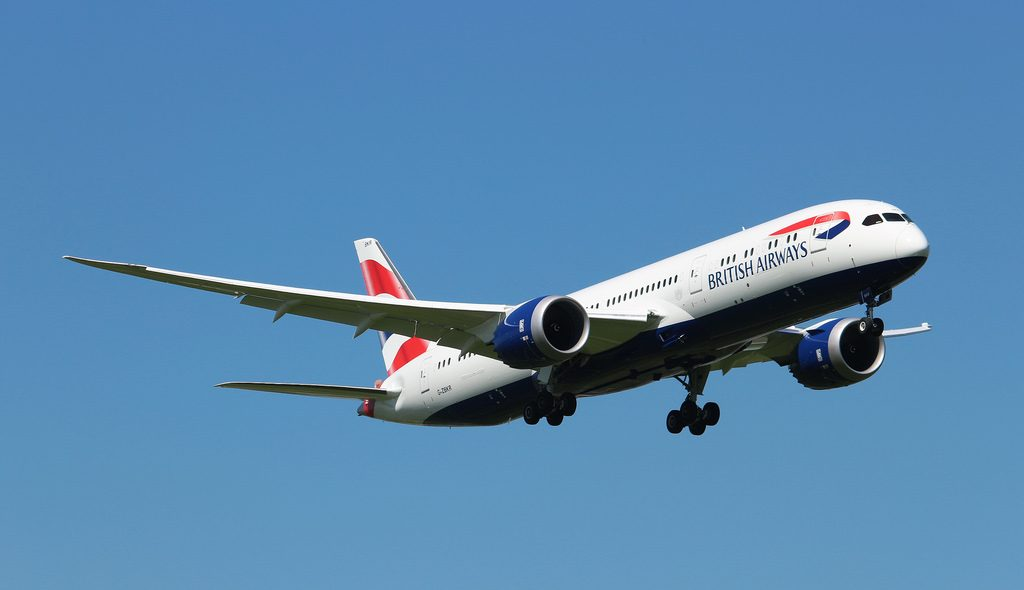 G ZBKR Boeing 787 9 Dreamliner British Airways at London Heathrow Airport