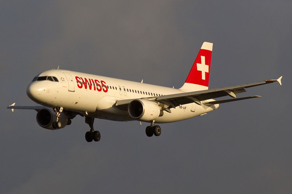 HB IJR Airbus A320 214 Avenches of Swiss International Air Lines at Copenhagen Airport