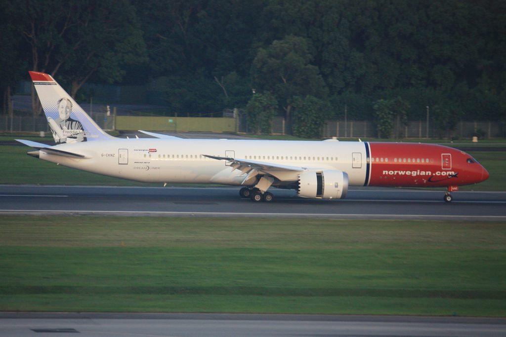 Norwegian Boeing 787 9 Dreamliner G CKNZ Freddie Laker