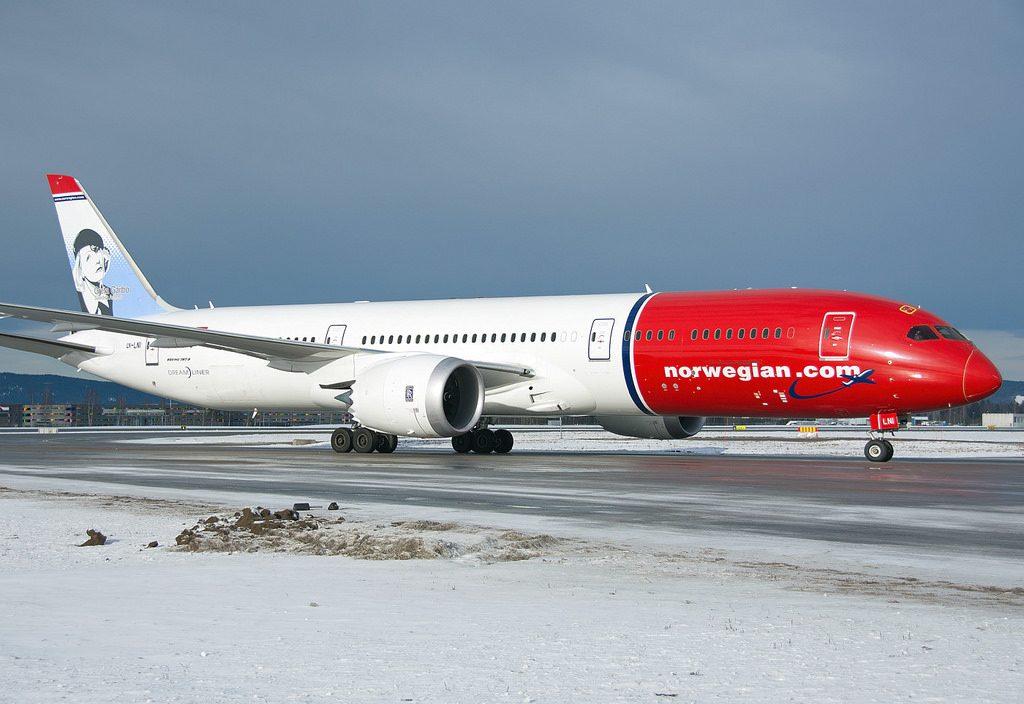Norwegian Boeing 787 9 Dreamliner LN LNI Greta Garbo
