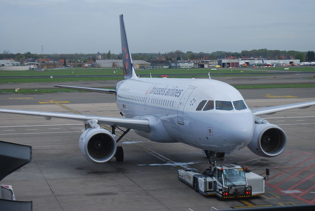 OO SSB Airbus A319 111 of Brussels Airlines at Brussels Airport
