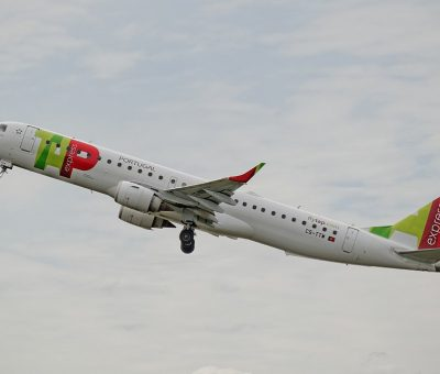 Portugália Fátima CS TTW TAP Express Embraer E195