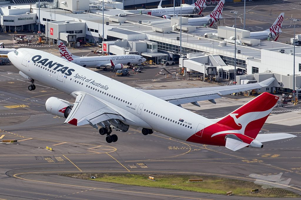 Qantas Fleet Airbus A330-200 Details and Pictures