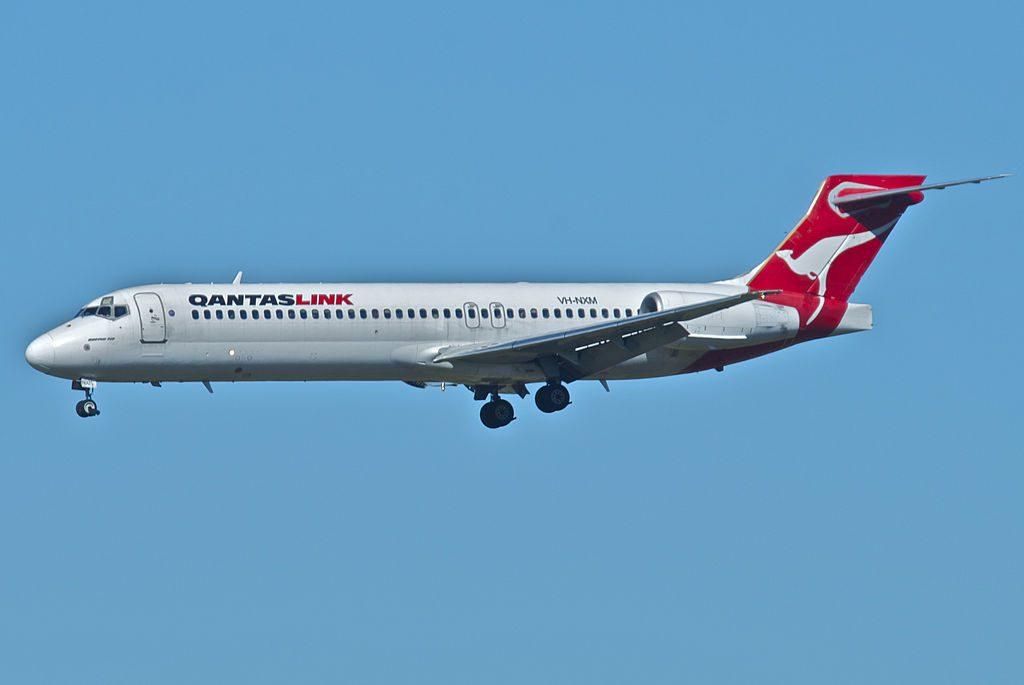 Qantas Link Boeing 717 231 VH NXM at Brisbane Airport