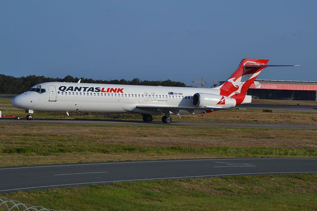 QantasLink Boeing 717 2K9 VH NXI at Brisbane Airport