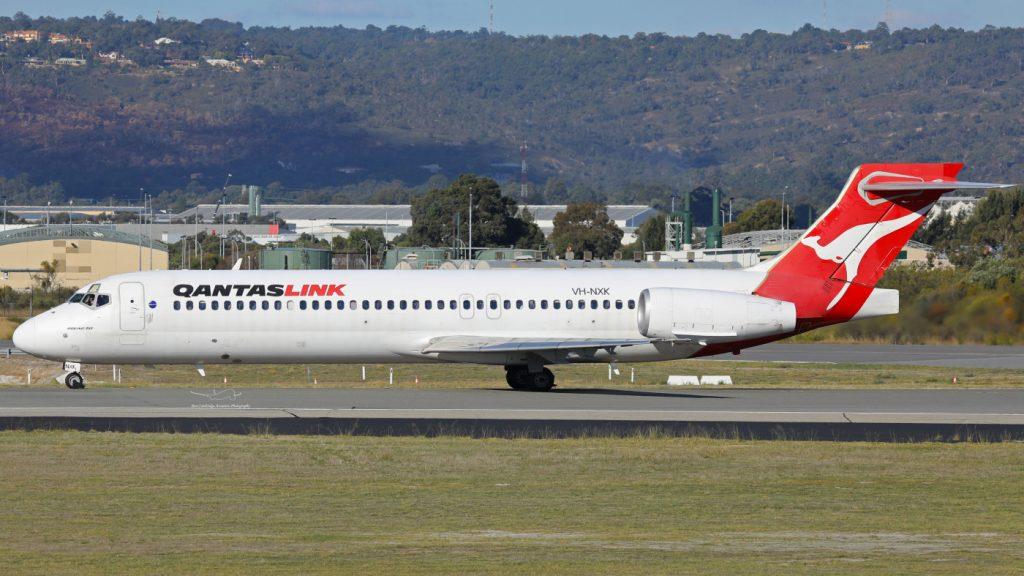 QantasLink National Jet Systems VH NXK Boeing 717 231