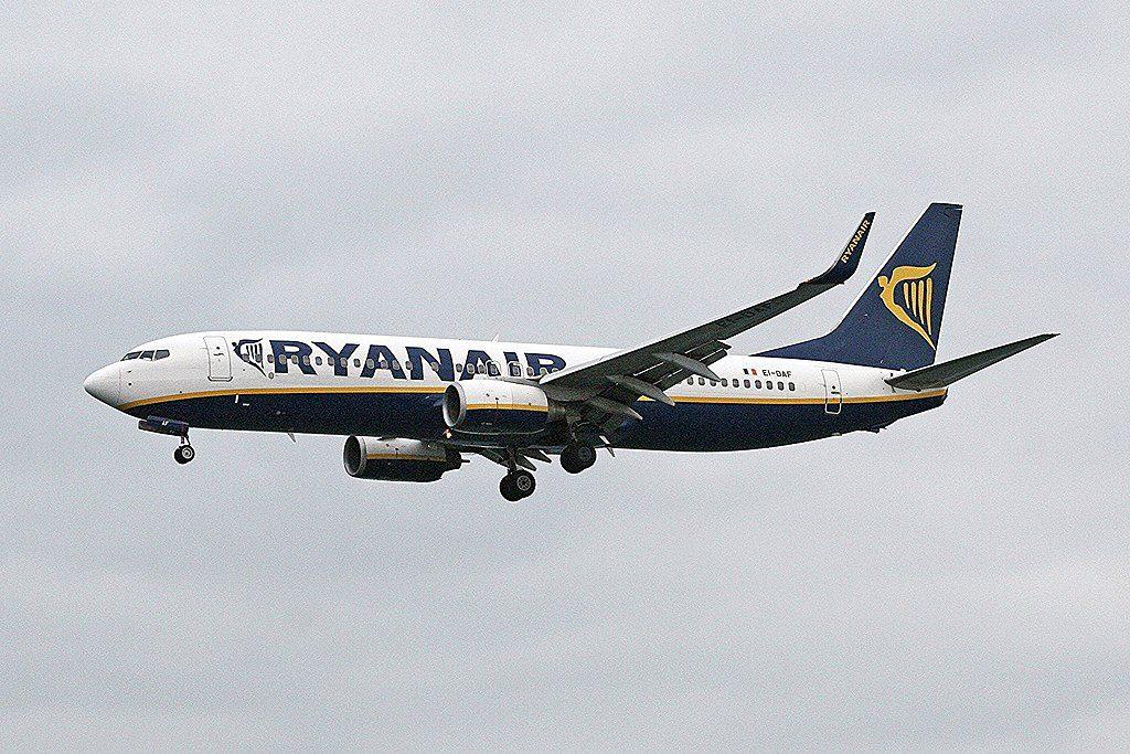 Ryanair Boeing 737 8ASWL EI DAF at Lanzarote Airport Arrecife