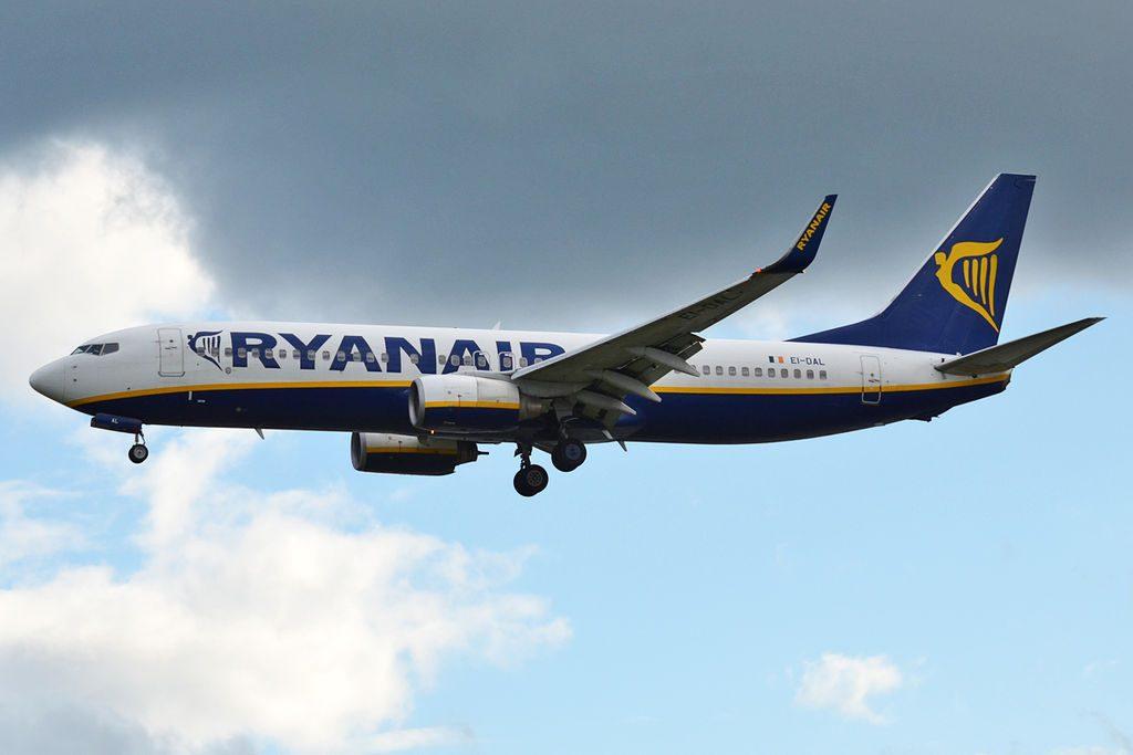 Ryanair EI DAL Boeing 737 8ASWL at Tallinn Airport