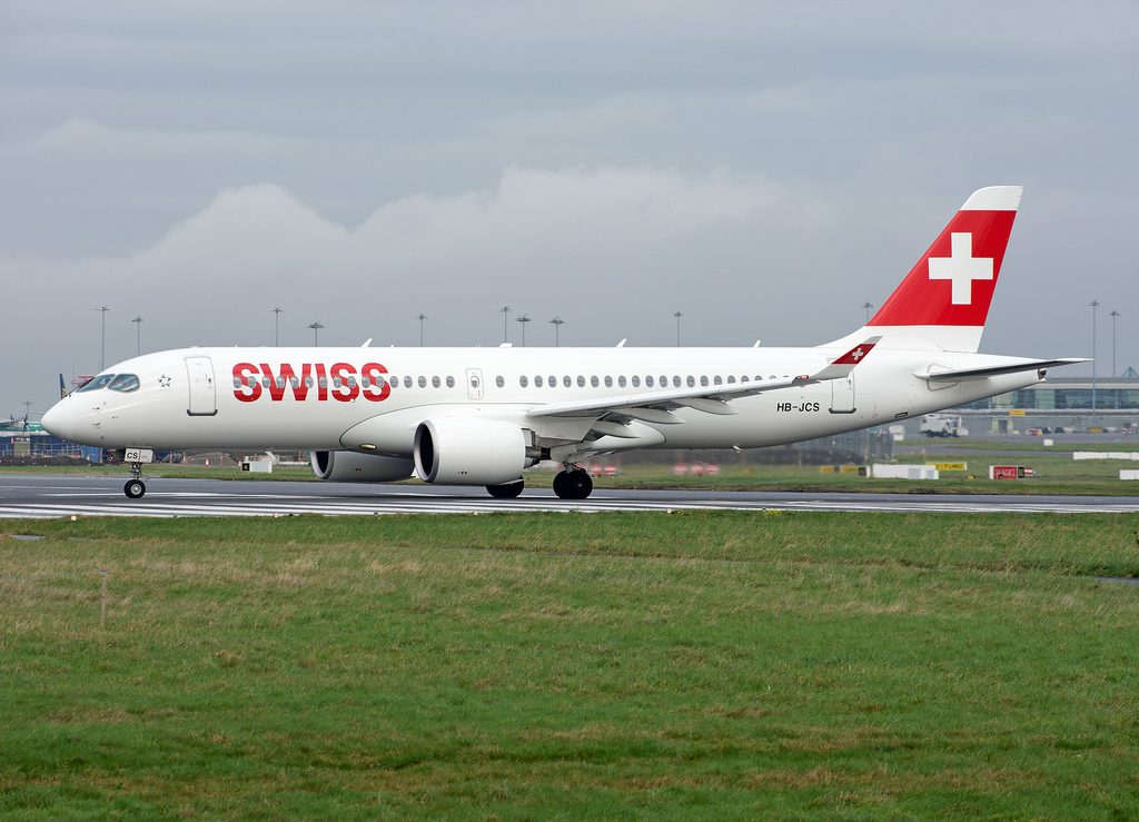 SWISS Airbus A220 300 HB JCS Aircraft Photos
