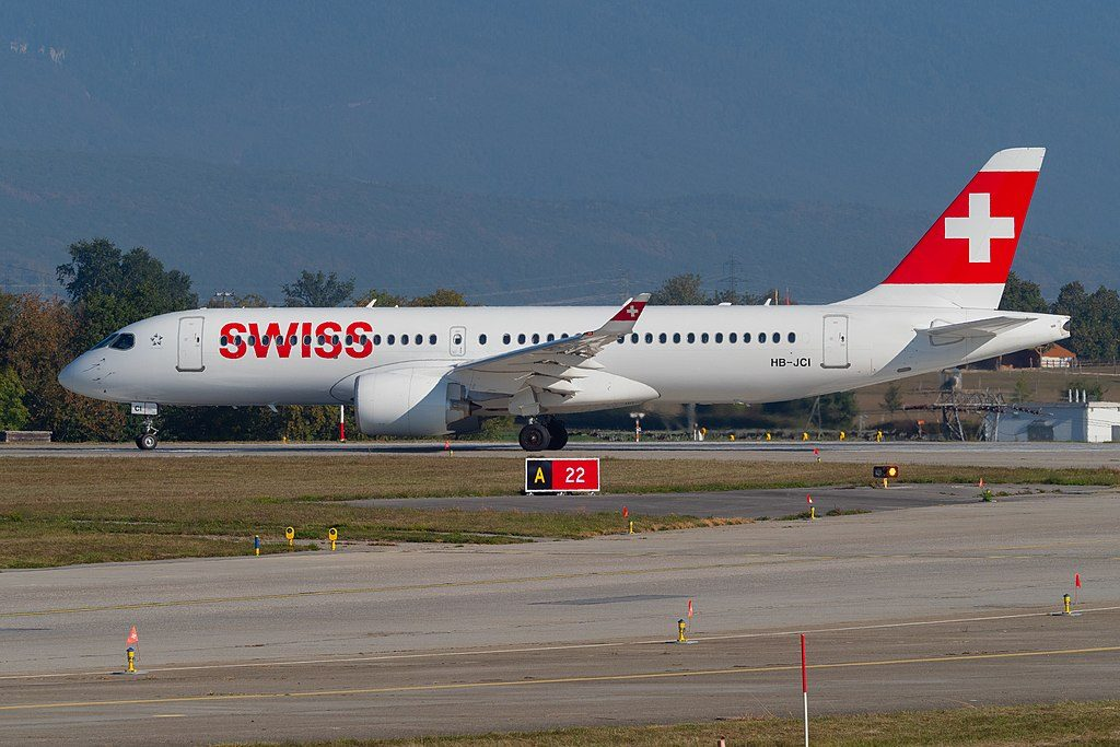 SWISS HB JCI Bombardier BD 500 1A11 CS300 at Geneva International Airport