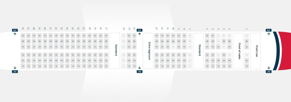 Seat Map and Seating Chart Boeing 737 Max 8 Norwegian