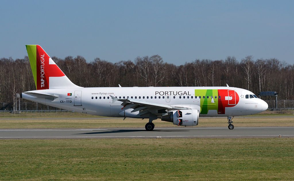 TAP Air Portugal Airbus A319 111 CS TTD Amadeo de Souza Cardoso at Hamburg Airport