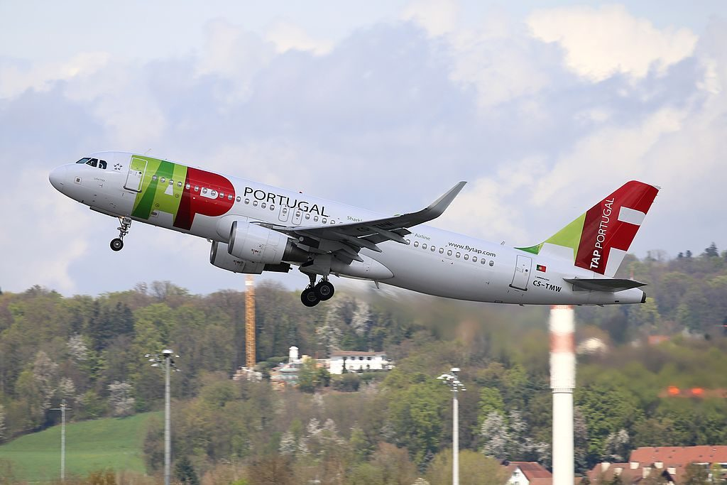 TAP Air Portugal Airbus A320 214WL CS TMW Luisa Todi at Zurich International Airport