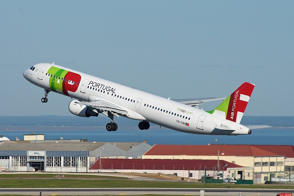 TAP Air Portugal Airbus A321 211 CS TJH Manoel de Oliveira at Lisbon Portela Airport