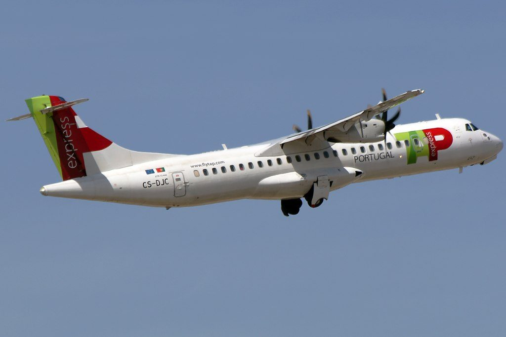TAP Express White Airways CS DJC ATR 72 600 Beja at Alicante Airport