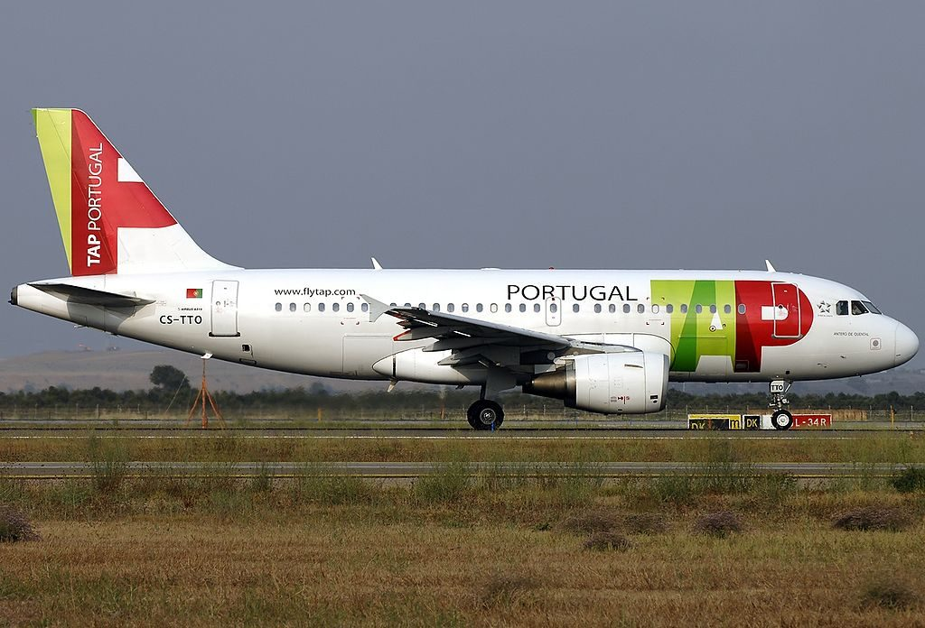 TAP Portugal CS TTO Airbus A319 111 Antero de Quental at Fiumicino Airport