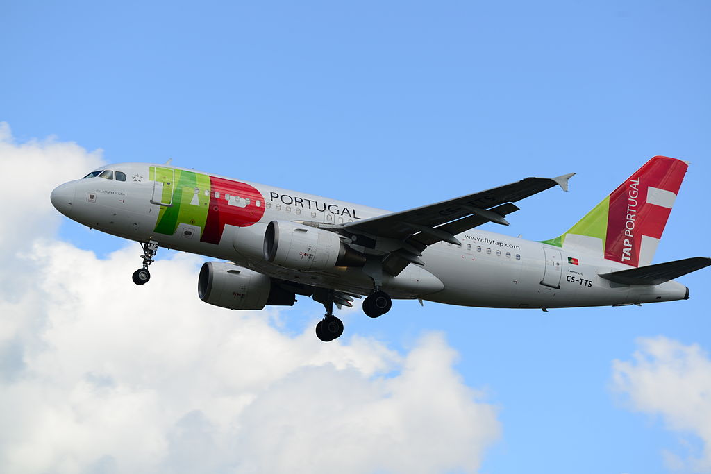 TAP Portugal CS TTS Airbus A319 112 Guilhermina Suggia at London Heathrow Airport