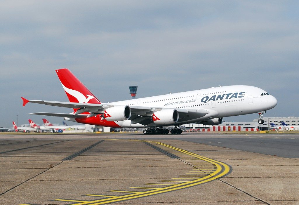 Qantas Fleet Airbus A380-800 Details and Pictures