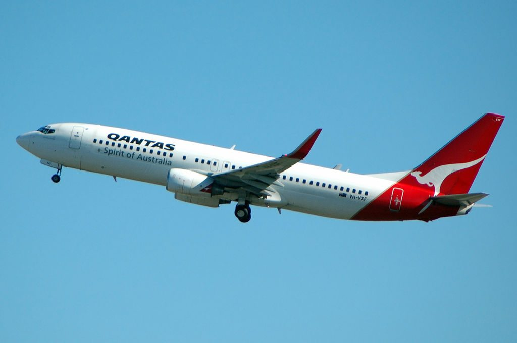 VH VXF Sunshine Coast Boeing 737 838WL Qantas at Brisbane Airport