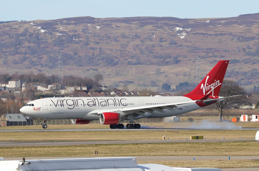 Virgin Atlantic Airbus A330 223 G VMNK Daydream Believer