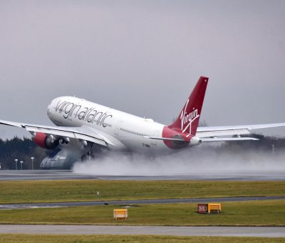 Virgin Atlantic Airbus A330 223 G VMNK Daydream Believer at Manchester Airport