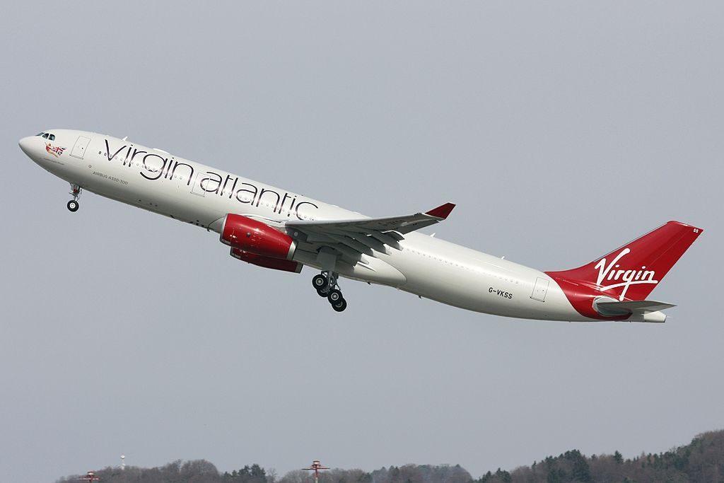 Virgin Atlantic Airways Airbus A330 343 G VKSS Mademoiselle Rouge at Zurich International Airport