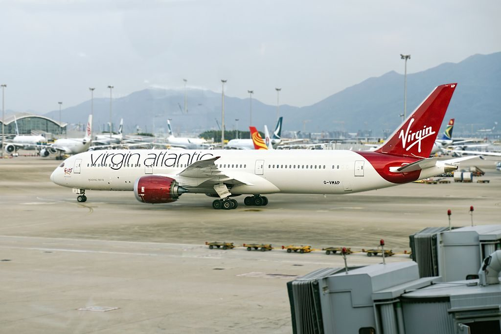 Virgin Atlantic Airways Boeing 787 9 Dreamliner G VMAP West End Girl VS206 LHR HKG