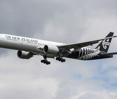 ZK OKR Boeing 777 300ER Air New Zealand at London Heathrow Airport