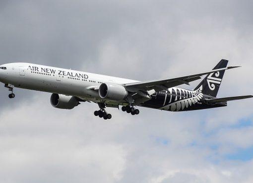 ZK OKR Boeing 777 300ER Air New Zealand at London Heathrow Airport