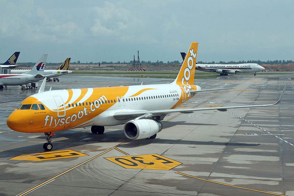 9V TRM So Far So Scoot Airbus A320 232 Scoot Airlines at Changi Airport