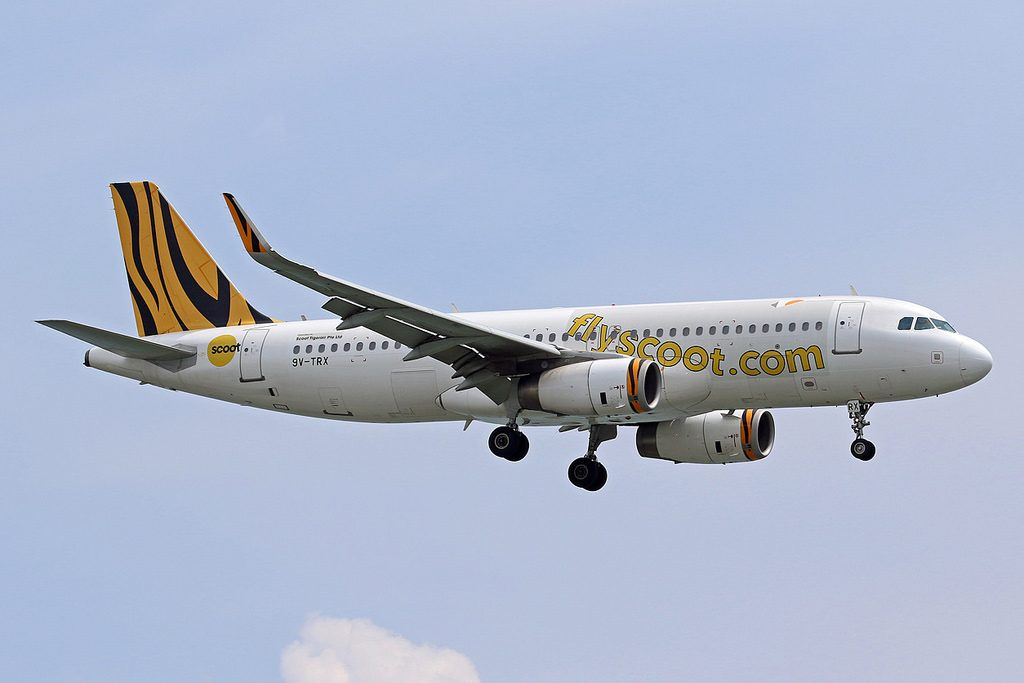 9V TRX Airbus A320 232WL Scoot Airlines