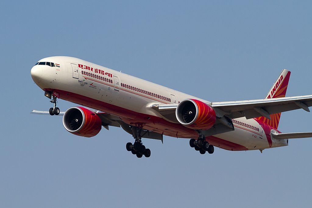AIr India Boeing 777 300ER VT ALO Meghalaya at Tokyo Narita International Airport