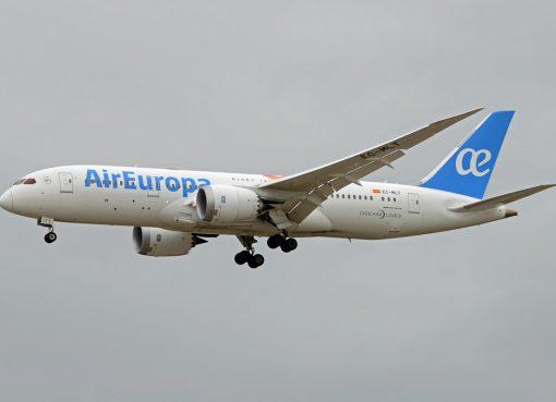 Air Europa Boeing 787 8 Dreamliner EC MLT at Madrid Barajas Airport