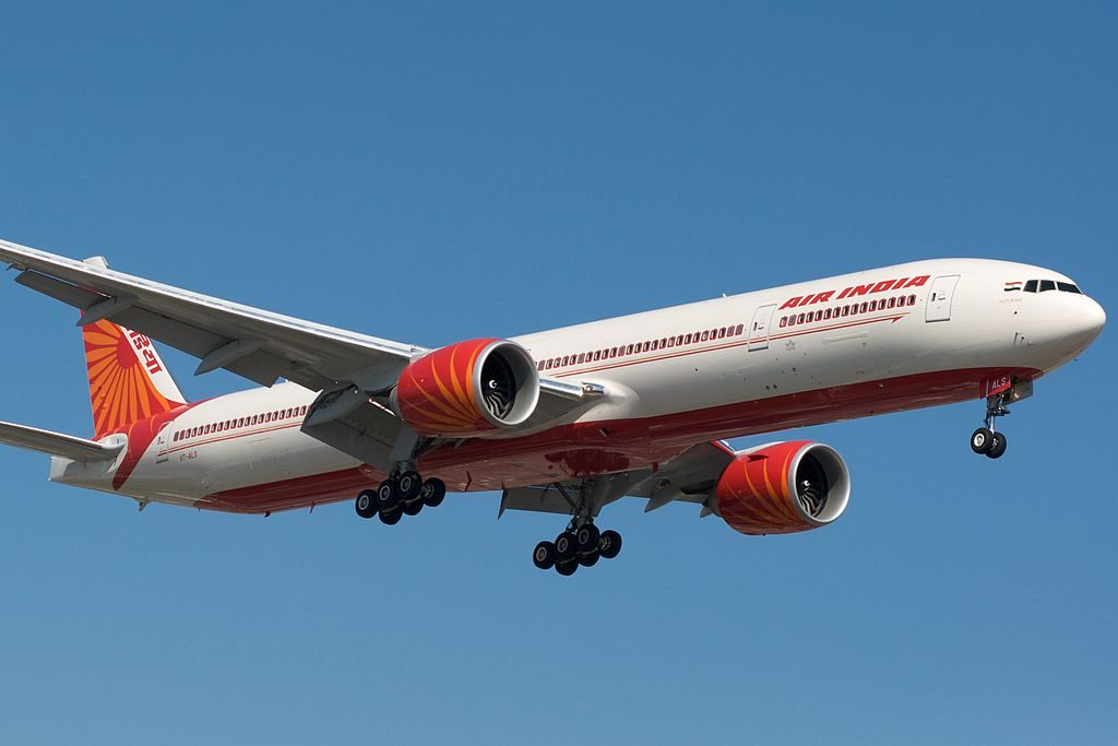 Air India 777 300ER VT ALS Manpur at Toronto Pearson International Airport