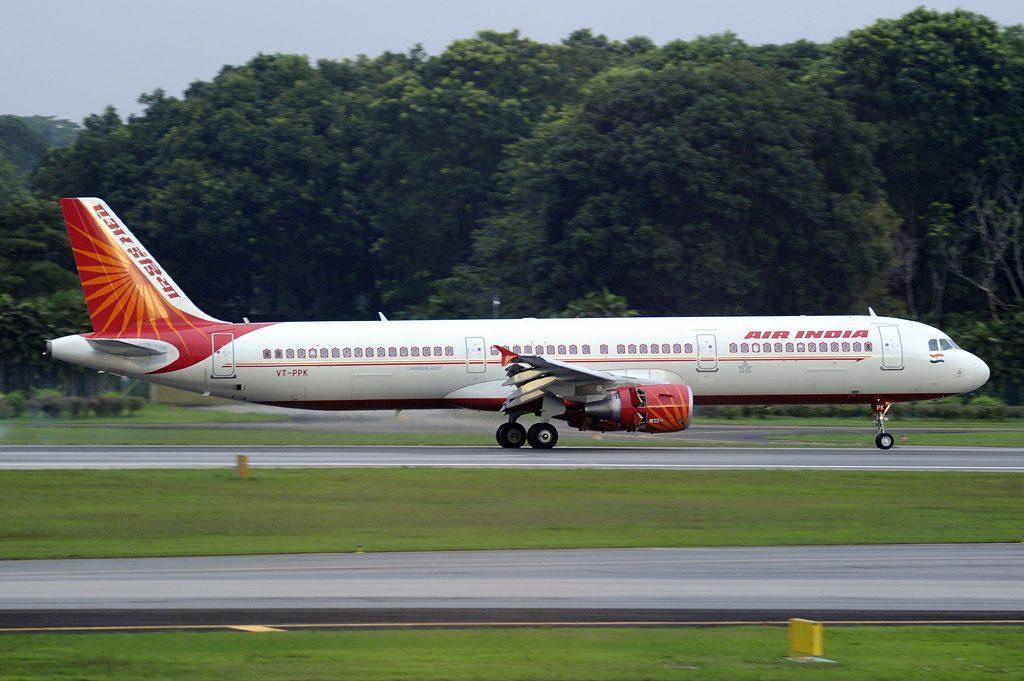 Air India Airbus A321 200 VT PPK