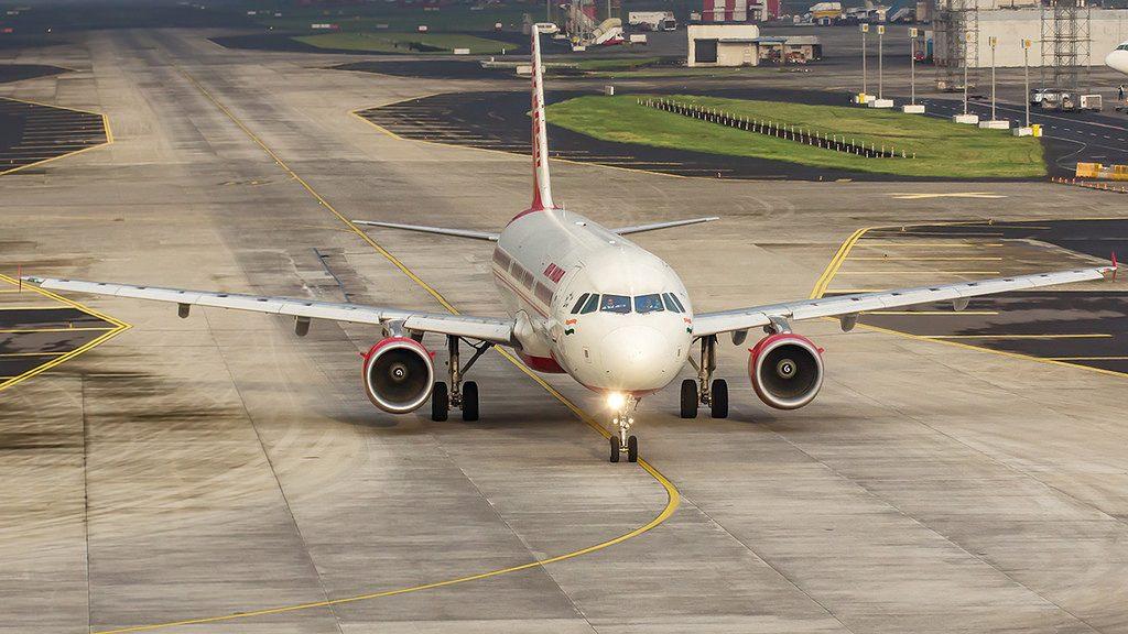 Air India Airbus A321 211 VT PPF at Mumbai Airport