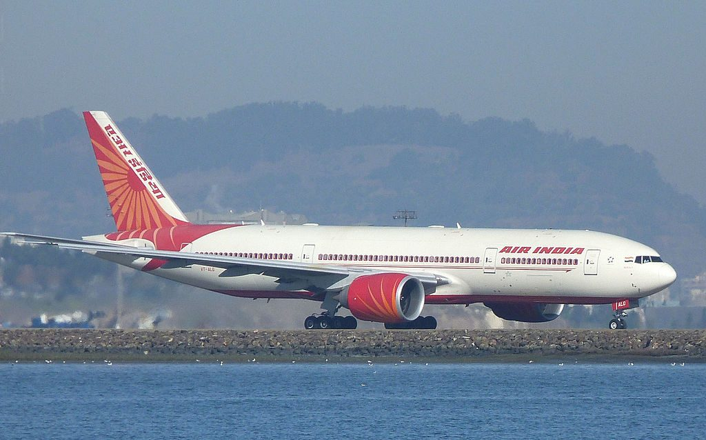 Air India Boeing 777 237LR VT ALG Kerala at San Francisco International Airport