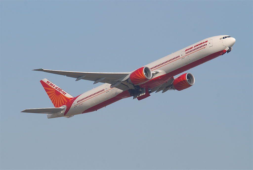 Air India Boeing 777 337ER VT ALT Goa at Frankfurt Airport