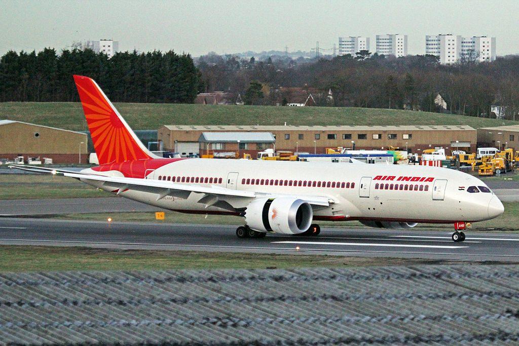 Air India Boeing 787 8 Dreamliner VT ANB at Birmingham Airport