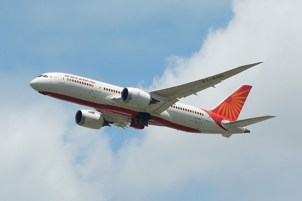Air India Boeing 787 8 Dreamliner VT ANC at Narita International Airport