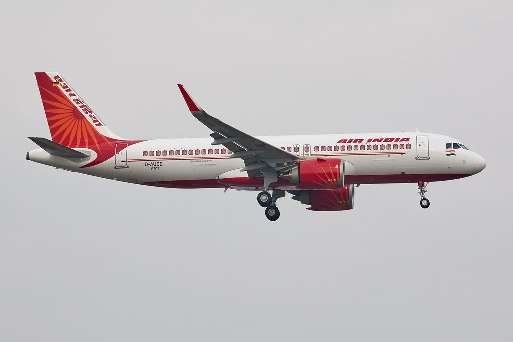 Air India VT CIN Airbus A320neo