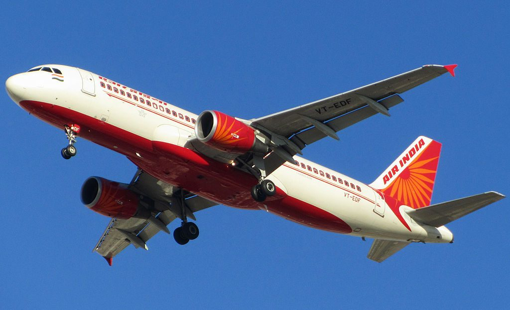 Air India VT EDF Airbus A320 214 at Dubai International Airport