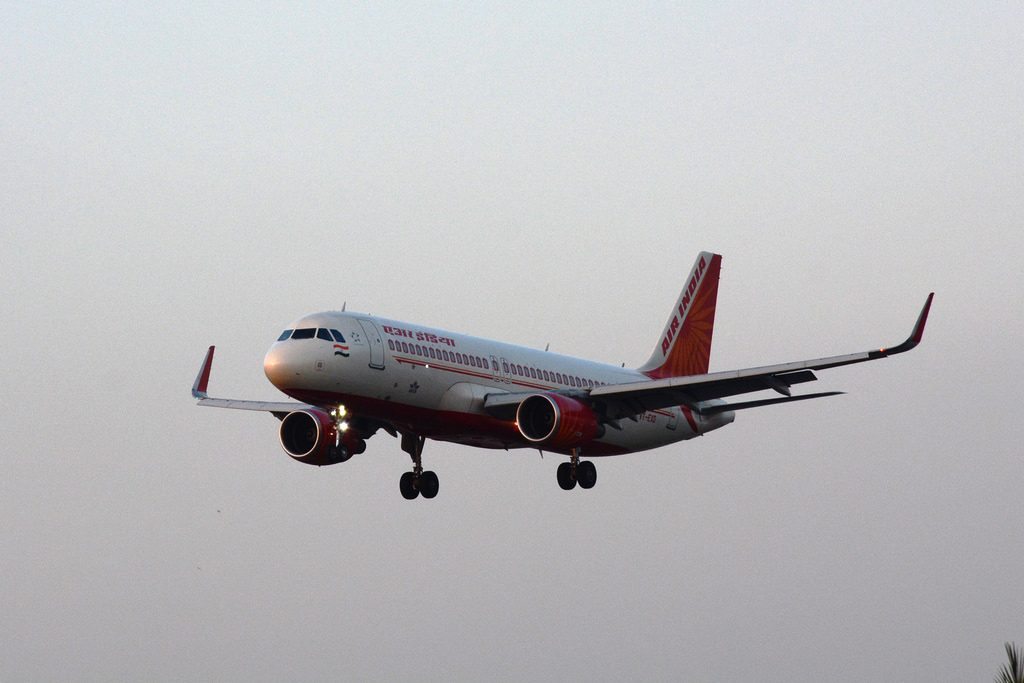 Air India VT EXD Airbus A320 214WL at Chhatrapati Shivaji International Airport