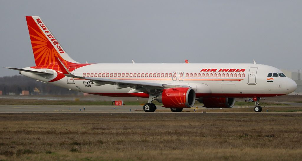Air India VT EXF Airbus A320 251NEO at Toulouse Blagnac