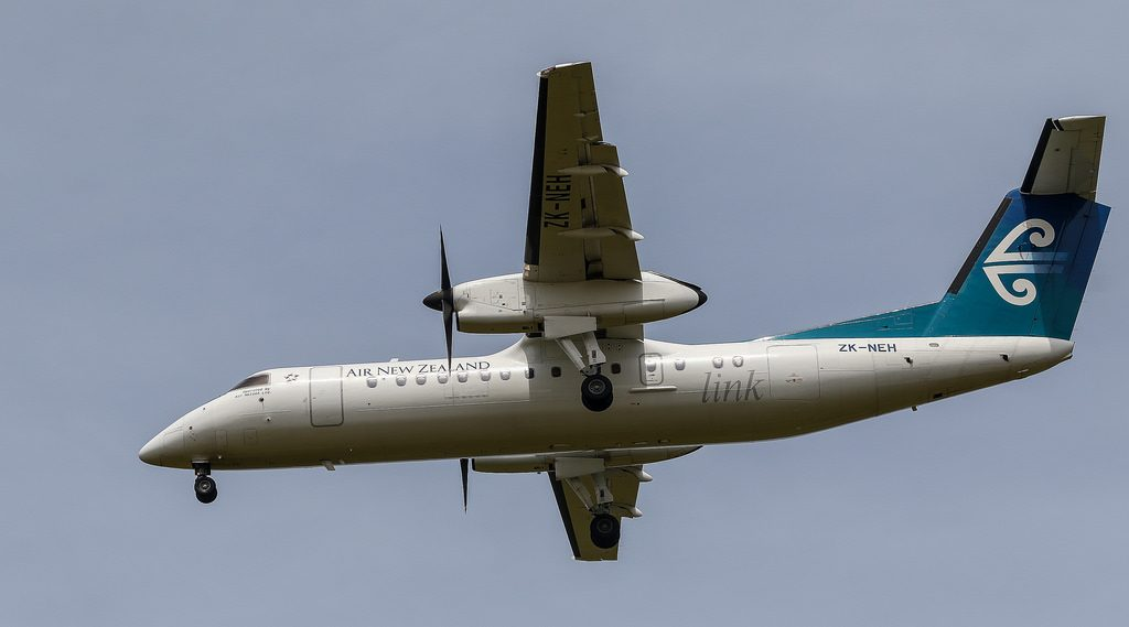 Air New Zealand Link Air Nelson Bombardier Dash 8 Q300 ZK NEH