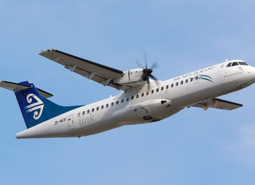 Air New Zealand Link Mount Cook Airline ZK MCB ATR 72 500 at Wellington International Airport