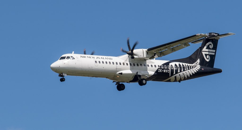 Air New Zealand Link Mount Cook Airline ZK MVC ATR 72 500