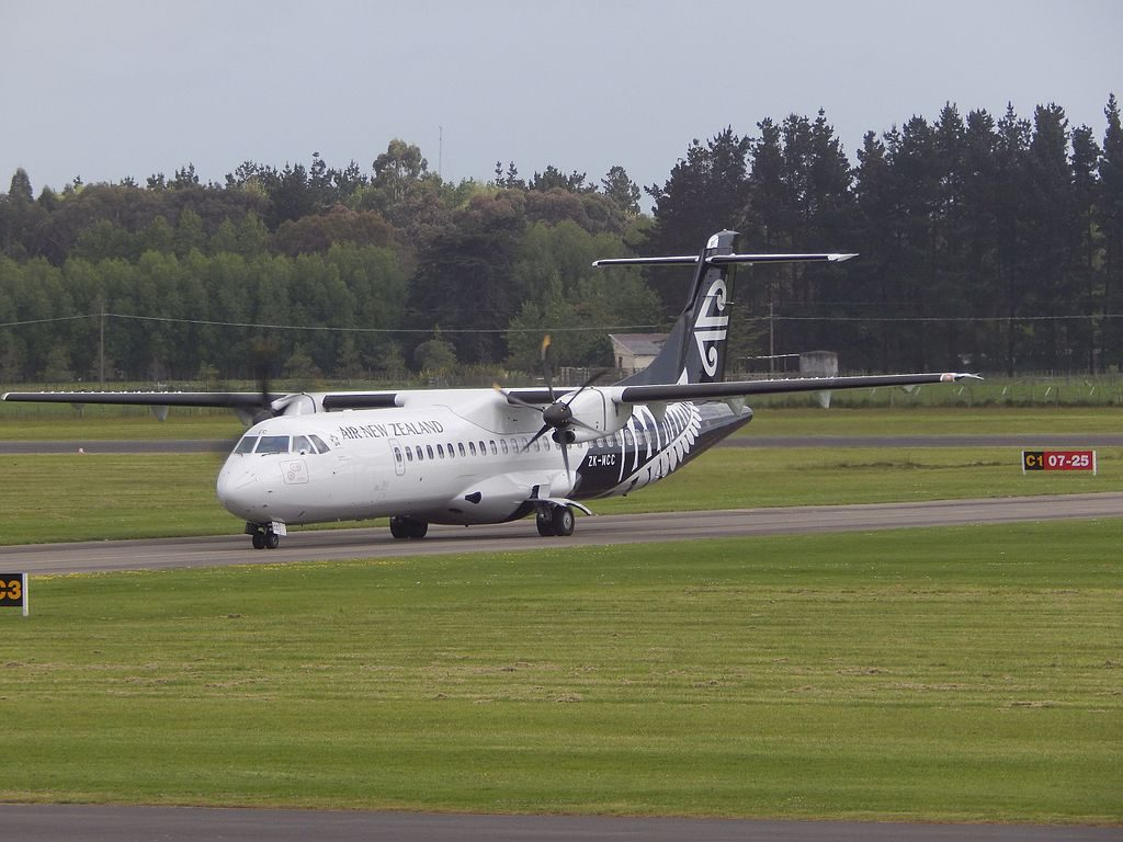 Air New Zealand Mount Cook Airline ZK MCC ATR 72 500 72 212A