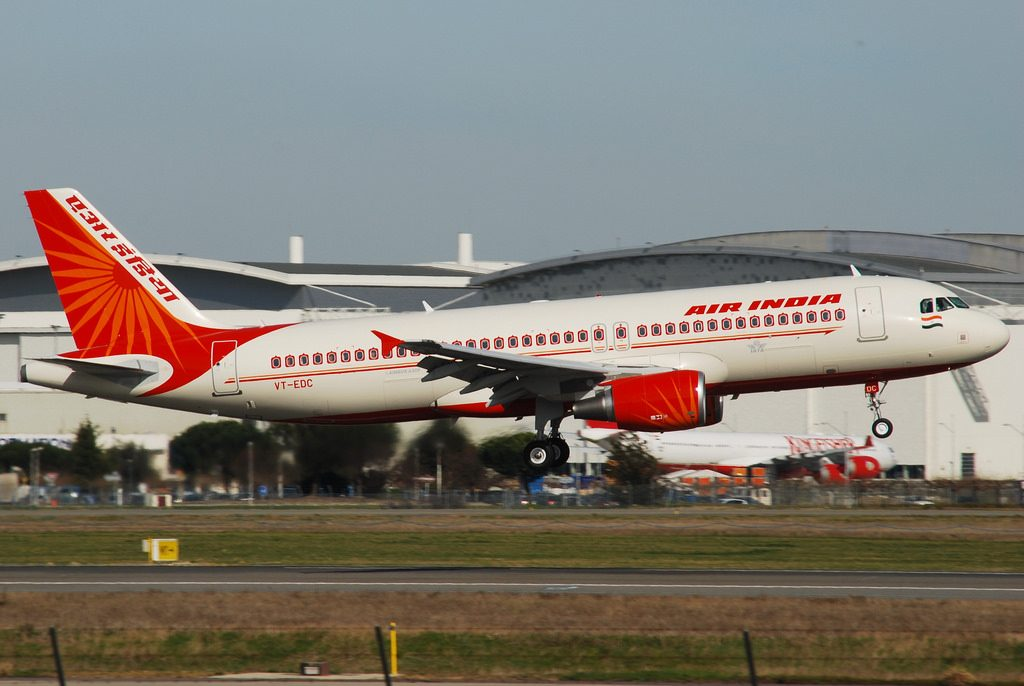 Airbus A320 214 Air India AIC VT EDC at Toulouse Blagnac LFBO